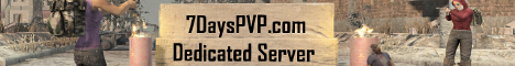 7DaysPVP.com USA Dedicated - Custom